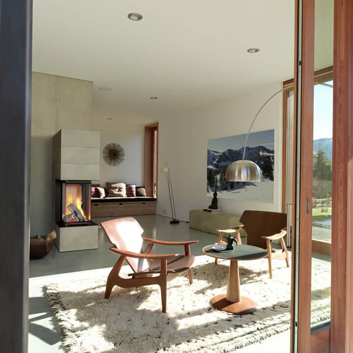 brunner panoramakamin vereinigte ofen und kaminwerkst tten hamburg ag. Black Bedroom Furniture Sets. Home Design Ideas