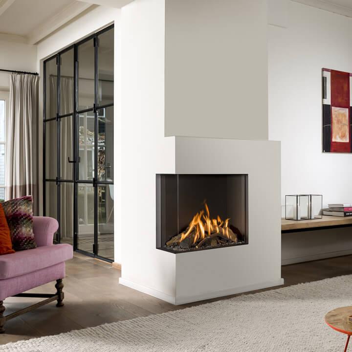 feuer von zwei seiten vereinigte ofen und kaminwerkst tten hamburg ag. Black Bedroom Furniture Sets. Home Design Ideas