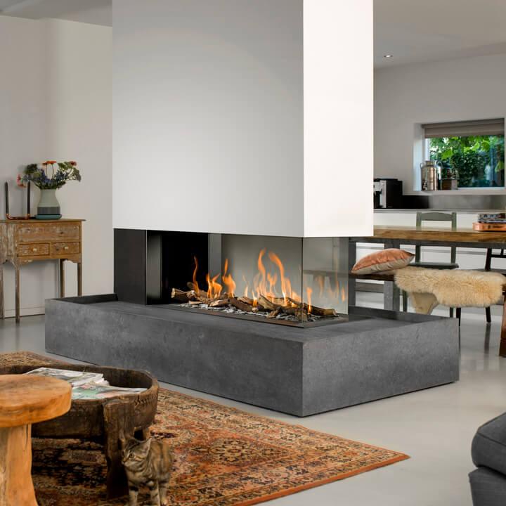 gaskamin vereinigte ofen und kaminwerkst tten hamburg ag. Black Bedroom Furniture Sets. Home Design Ideas