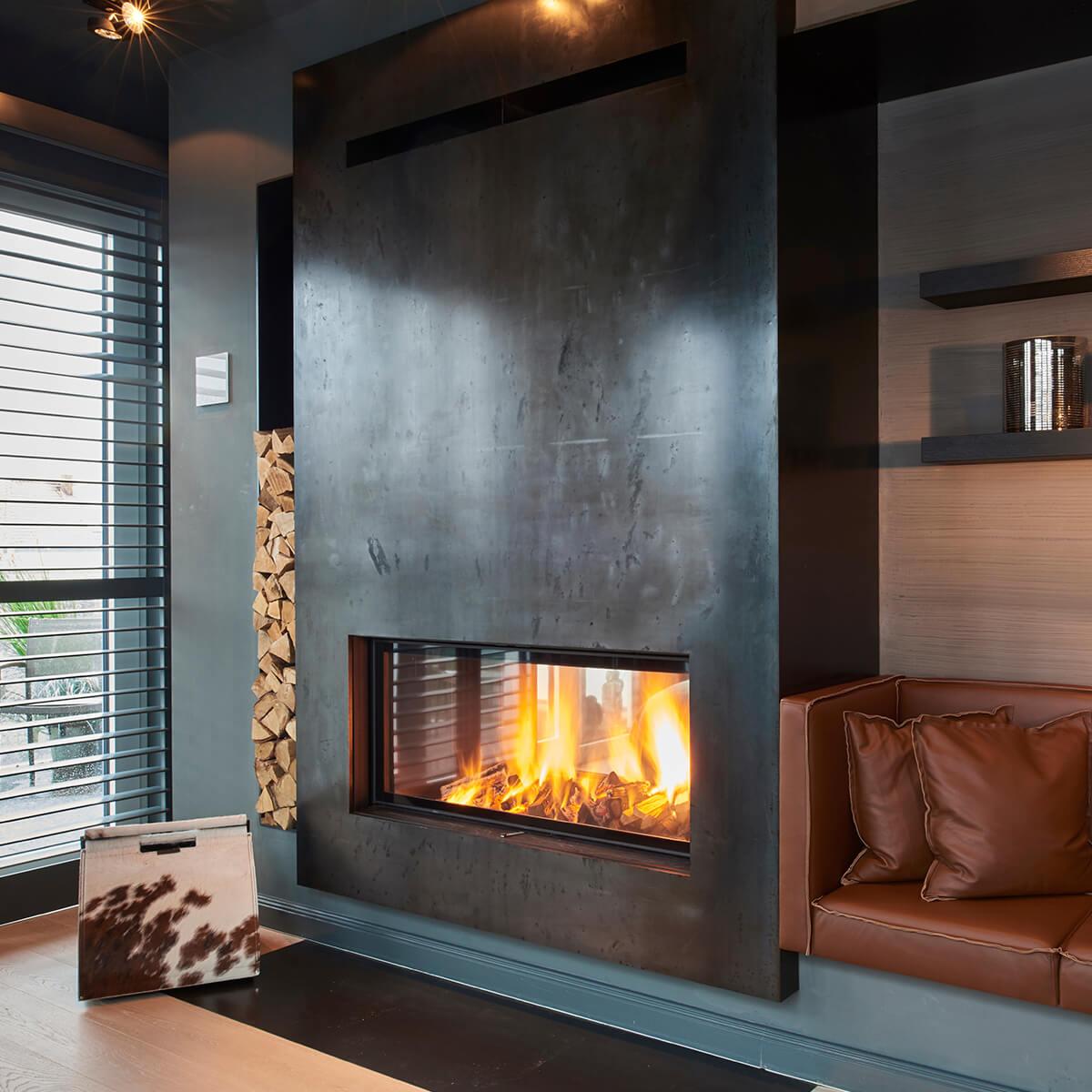 verbindet wohn und schlafzimmer vereinigte ofen und kaminwerkst tten hamburg ag. Black Bedroom Furniture Sets. Home Design Ideas
