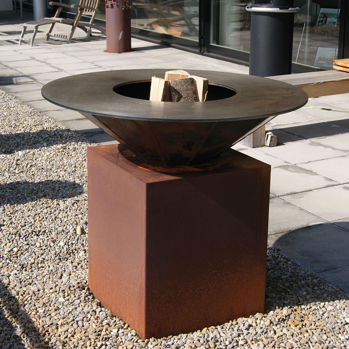Schön Gartenfeuerstelle Bilder Von Wohndesign Idee